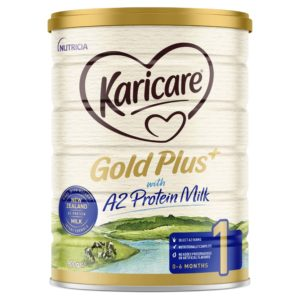 Karicare Gold Plus+ A2 Protein Milk 1 Baby Infant Formula From Birth to 6 Months 900g